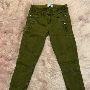Paige denim ankle zip jeans